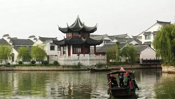 昆山四镇(周庄、千灯、锦溪、淀山湖)