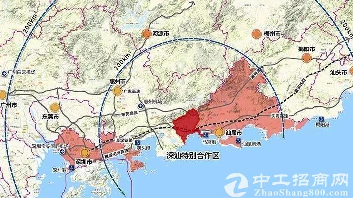 深圳第11区成实锤!深汕特别合作区145平方公里征为国有用地