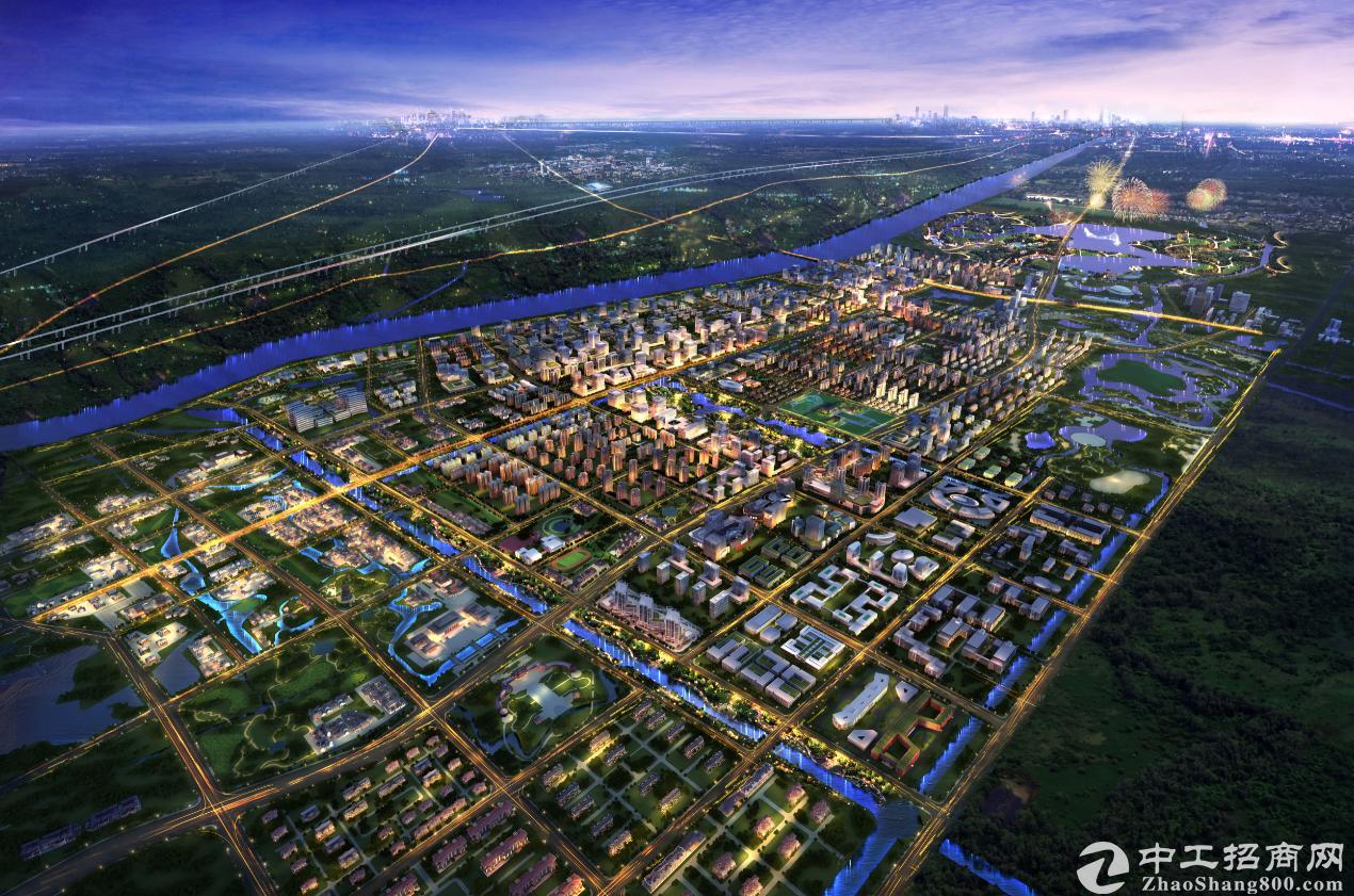 """产业集聚助力区域升级文安智慧新城构筑""""未来之城"""""""