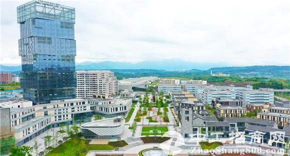 """广安(深圳)产业园首期项目全面建成以""""深圳速度""""在四川广安打造千亿园区"""
