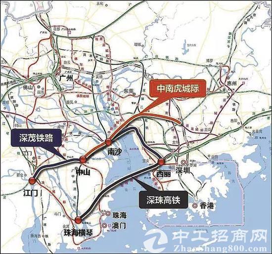 深珠城际要来了:珠海可直达深圳高铁及地铁站