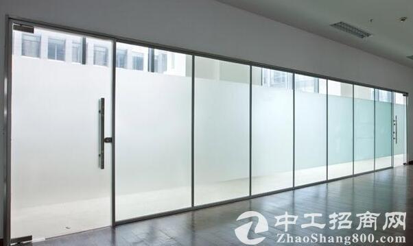 厂房装修的玻璃地簧门如何安装