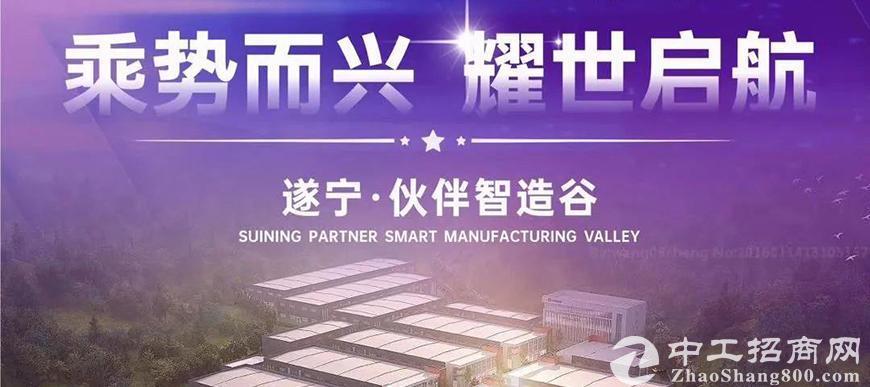 乘势而兴|遂宁伙伴智造谷预招商全球正式启动!