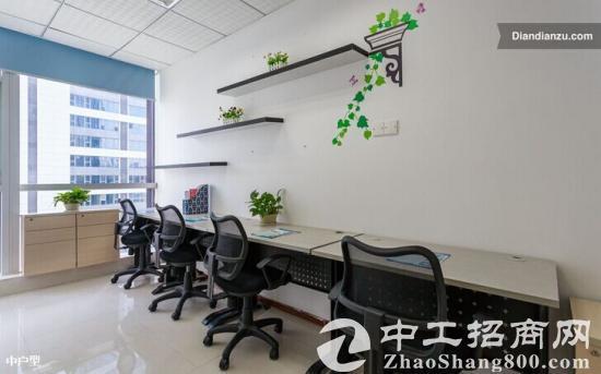 出租南油汉京大厦精装修小型办公室写字间出租可注册