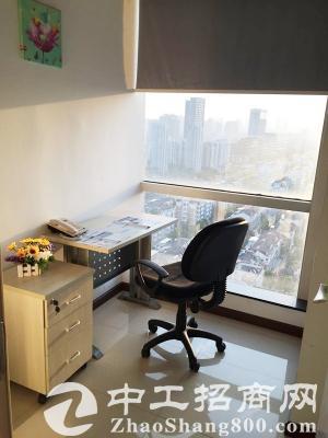 海曙小型办公室,前台会议室共享,免杂费,非中介