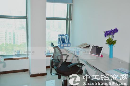 南山办公室靠窗50平出租独立办公5500全包注,册可短租