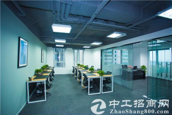 120平 香港中路办公室玻璃隔断 双经理室