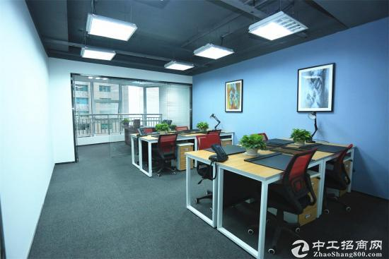 60平、带隔断有经理室、精装全配、非中介