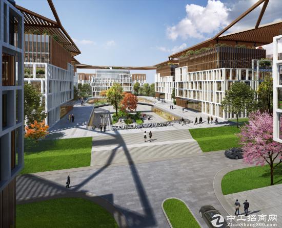 国际建筑大师打造花园式办公总部基地,G60科创走廊产业园