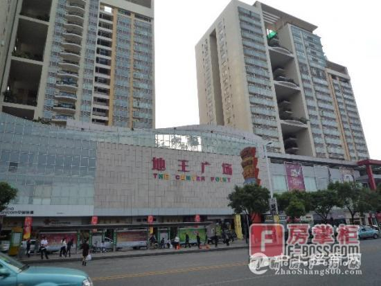 地王广场,一线商铺,97.4平,卖520万
