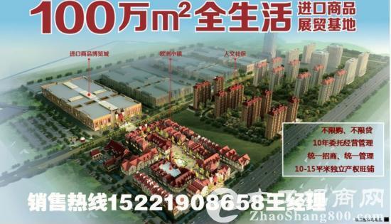 平湖进口商品城景图
