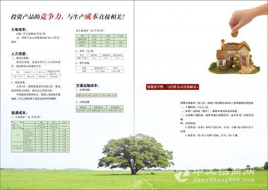江苏工业园,一万一亩超低价招商,闽商产业园