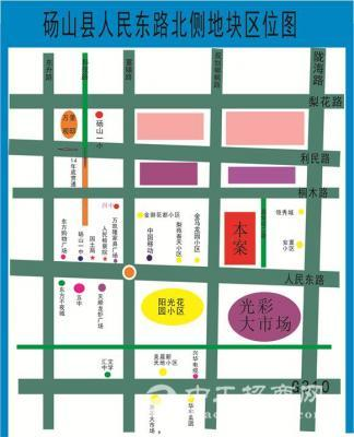 砀山县人民东路北侧地块标的介绍