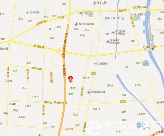 江苏省宿迁市经济开发区土地35亩 苏州路(土地证)