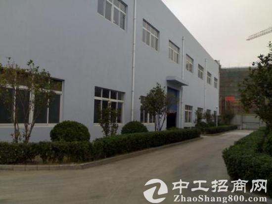 青浦练塘园区式独栋双层青加工仓储类厂房低价出租