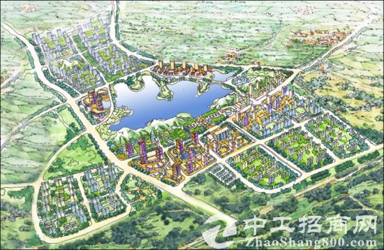 武汉40亩国有红本地皮招商 可自建厂房手续正规