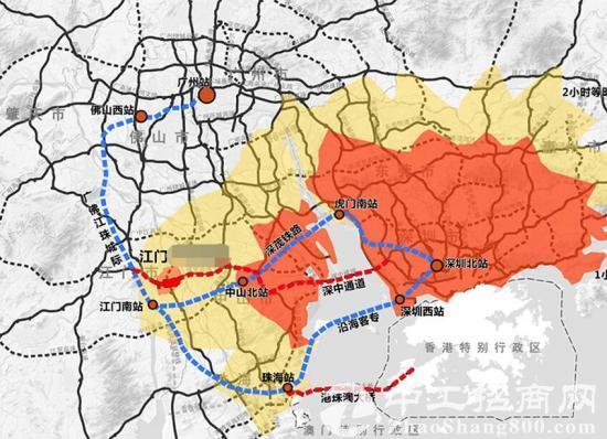 """珠三角""""1小时""""经济圈 江门高新区土地出售60亩"""