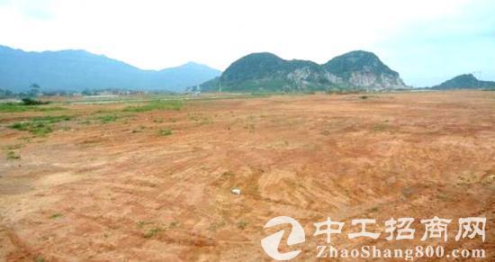 清远中心区50年产权48亩国有土地转让 可订建厂