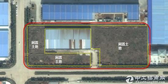 南京长江大桥对面 叉河经开区闲置工业园45亩出售
