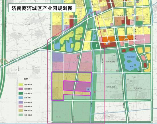 商河县城区产业园