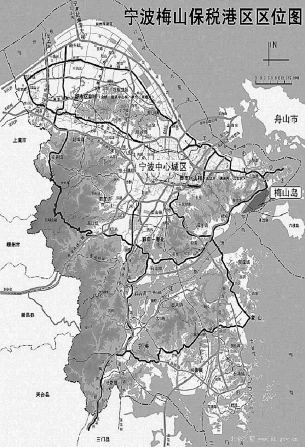 宁波梅山保税港区