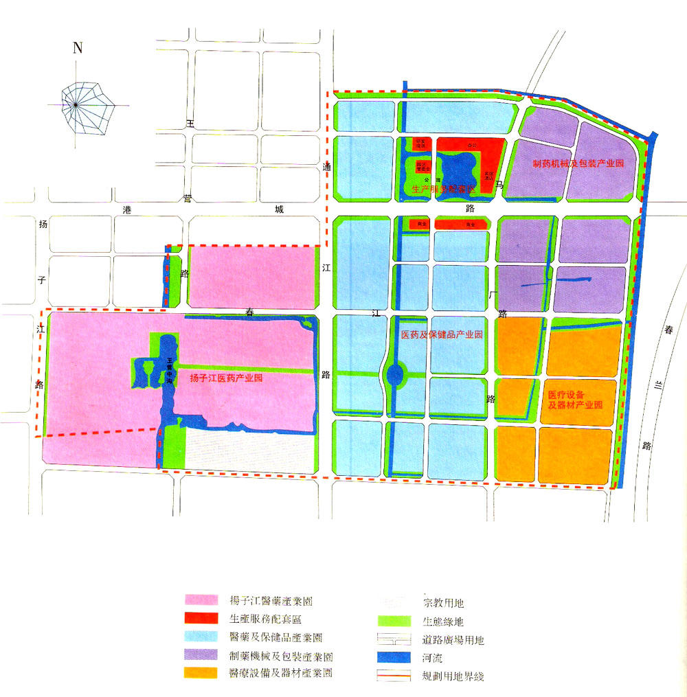 泰州高港高新技术产业园区