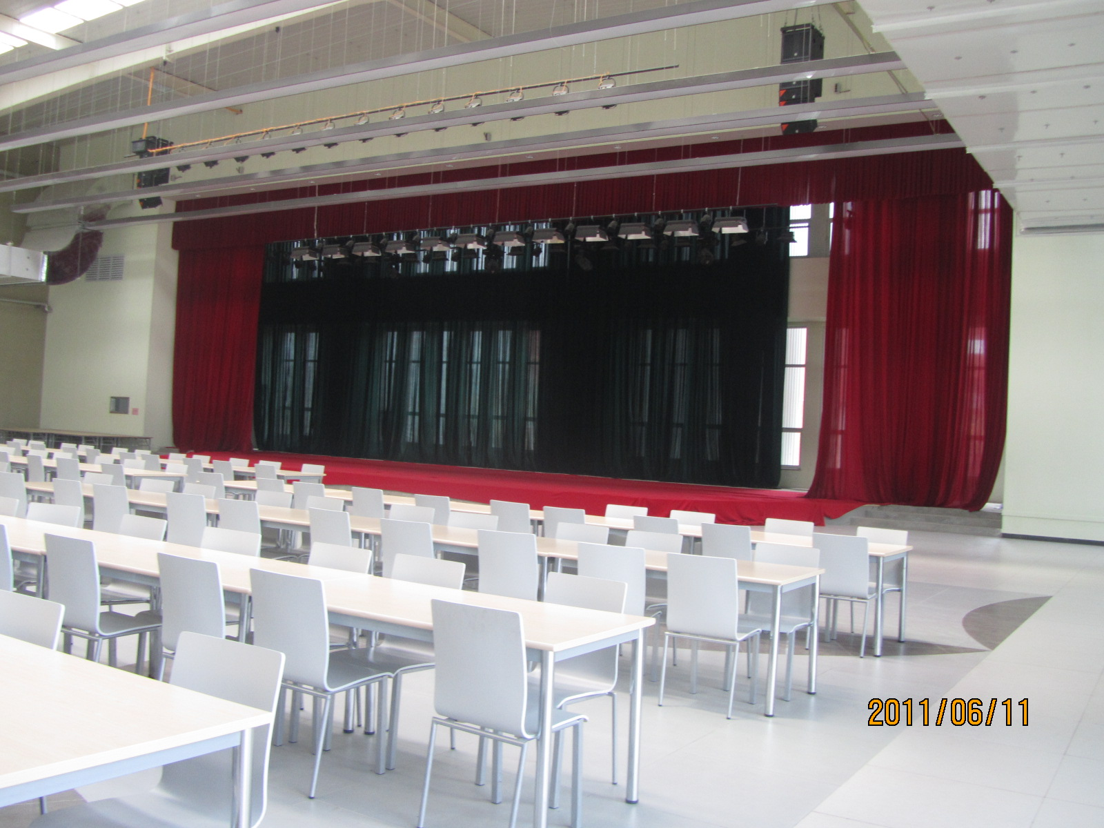 员工食堂-活动舞台