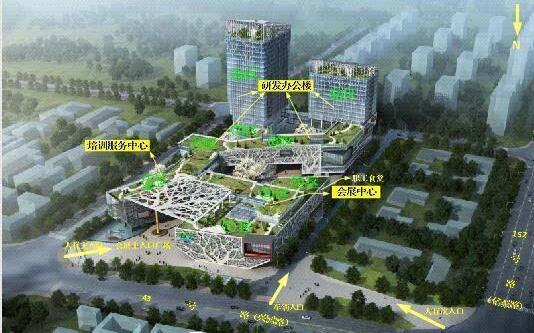 呈贡信息产业园设计总投资逾9亿元2020年全面建成