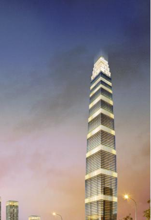 """501米""""西北第一高""""中国国际丝路中心项目已破土开建"""
