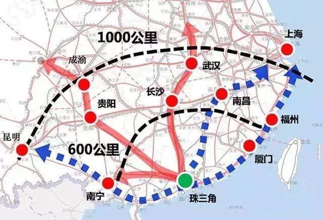 泛珠三角 20 年后将成为世界三大经济圈!