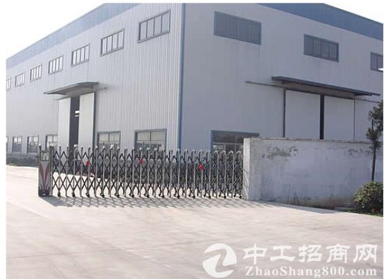 汉口北红安109国道旁,优质钢构厂房出售,带行车!