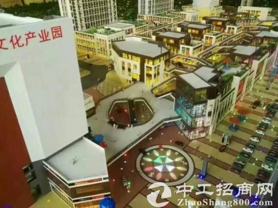 大深圳北带红本房产证350平方起卖,共18万平方