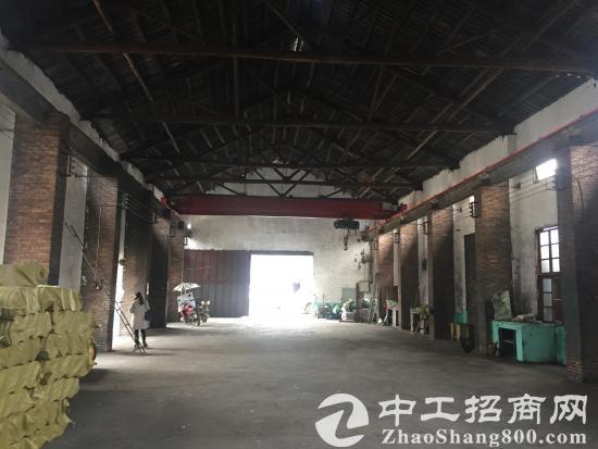 钢材市场附近带行车专变500平独门独院厂房急租