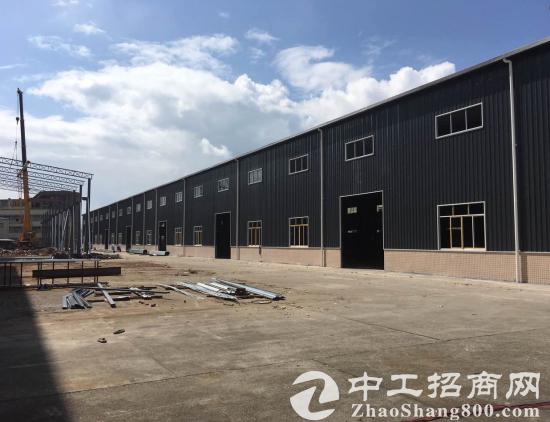 常平镇司马村工业区10000平方九成新独院单一层钢构厂房出租