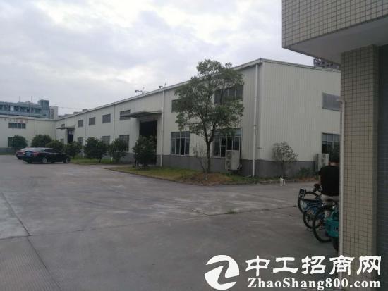 常平独门独院单一层钢构厂房5000平方,宿舍跟办公室1500平方