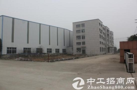临近含山县城  建有钢结构厂房2000平城主