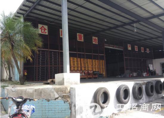 石碣独院钢构厂房3500平米带卸货平台可做仓库
