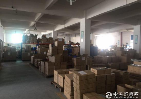 黄江北岸2500平方米大厂房可做仓库或工厂