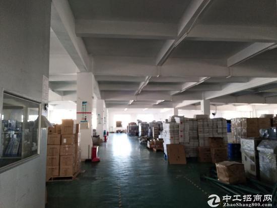 惠州江北园区四楼约1600平方仓库厂房出租交通好