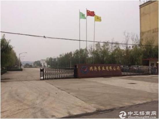 长葛市区钟繇大道北段(科技工业园区) 厂房及土地