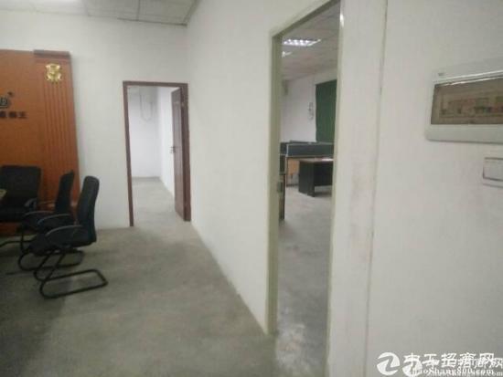 龙华壹城中心对面楼上带装修厂房800平,面积实在