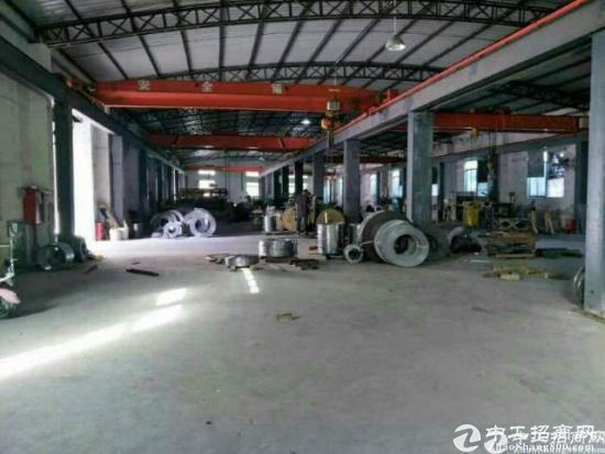 [厂房]惠阳新出独院2000平钢构厂房滴水8米低价出租