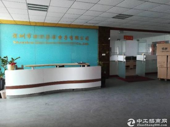 福永新出楼上2200平米带精装修厂房-图5