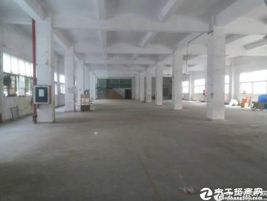 东莞厚街独门独院标准14880平方厂房,水电消防齐全