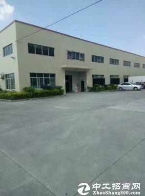 东莞厚街镇独院分租全新单一层钢构房2300平