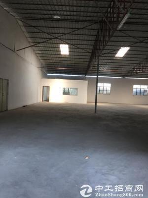 石岩松白路边上新出680平钢构厂房出租