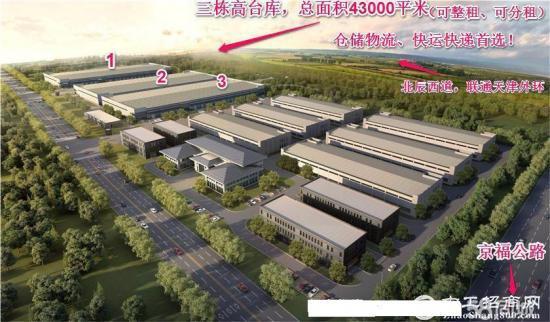 天津外环新建43000平米丙二类高台库