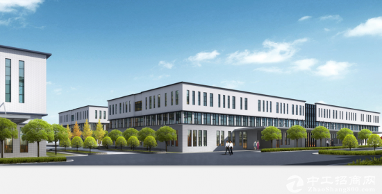 工业园6500平米单层20吨行车厂房出售