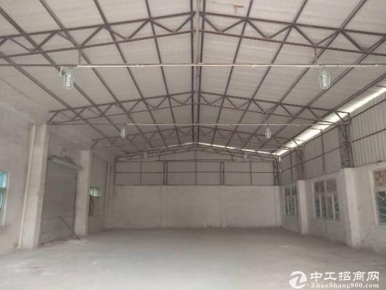 原房东独院钢构厂房,面积实量报价17