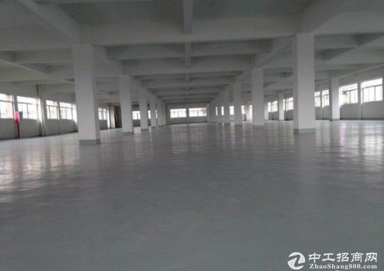 下江城新出标准厂房楼上1900平空地大交通方便水电齐全
